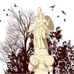 Beauty Athena Statue