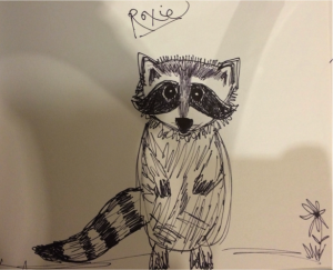 The Story of Little Raccoon and Standing Tree""