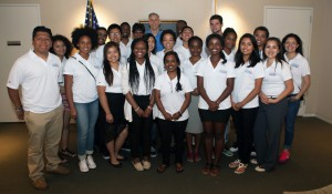 Student athletes from Urban Squash spoke with Secretary Duncan about how they can use sports for leadership development and academic success.