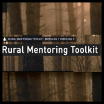 Mentoring outside city limits: New Rural Mentoring Toolkit produced by MANY